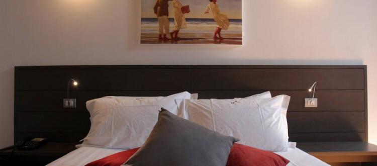 camera matrimoniale - hotel al vecchio tram - udine