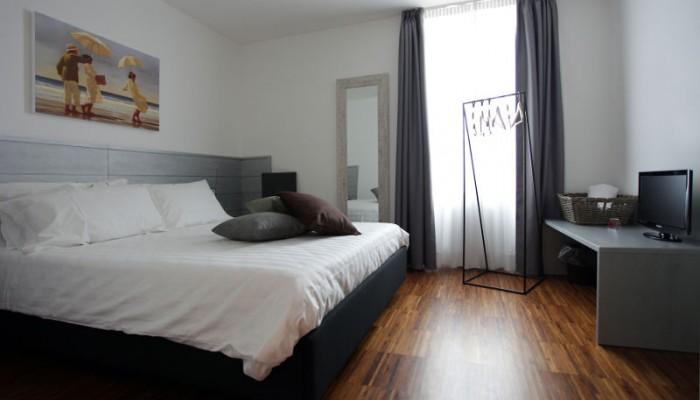 Einzelzimmer - Hotel al Vecchio Straßenbahn - Udine